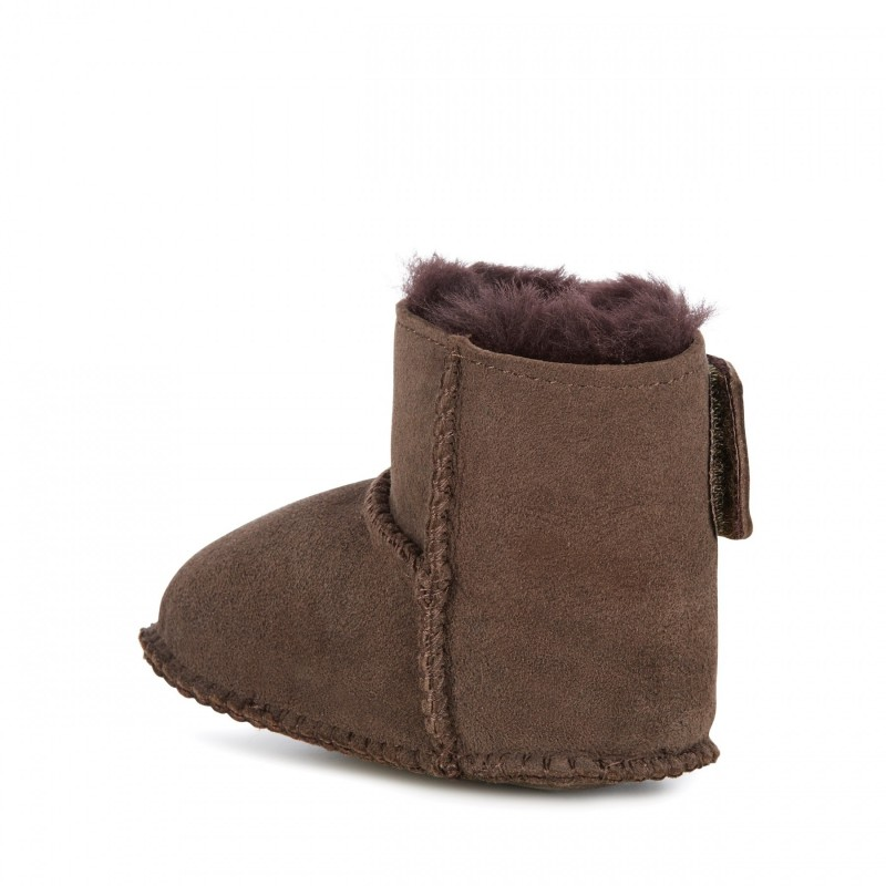 Baby Bootie E011 CHOCOLATE