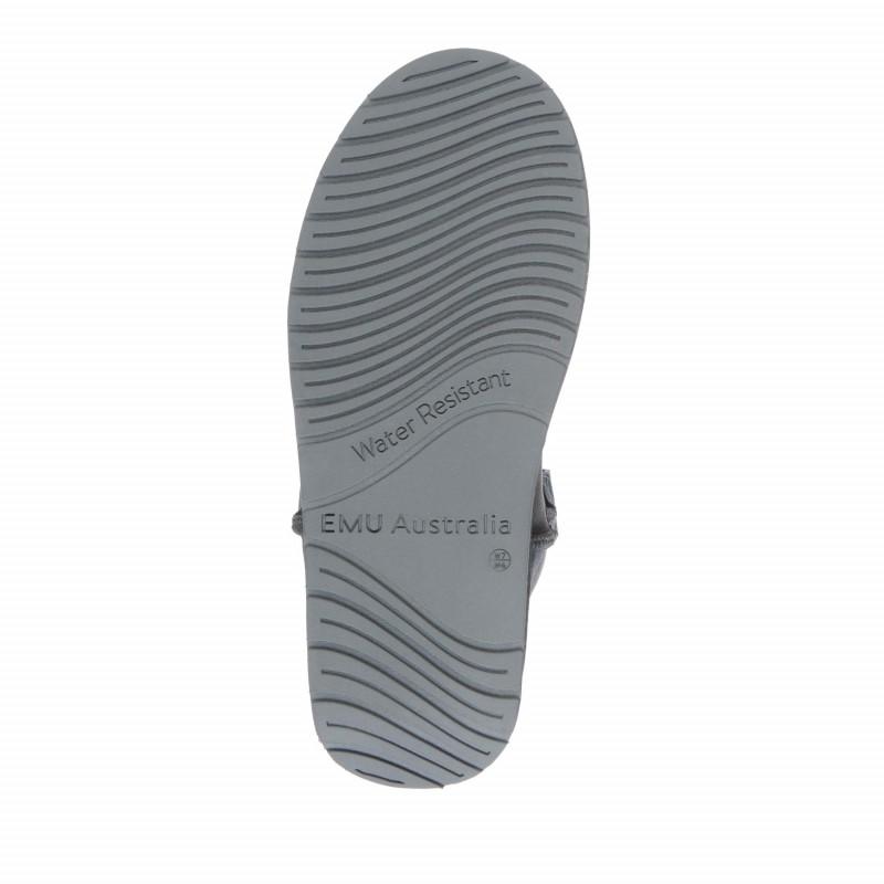 Foy Flatform Metallic E009 CHARCOAL