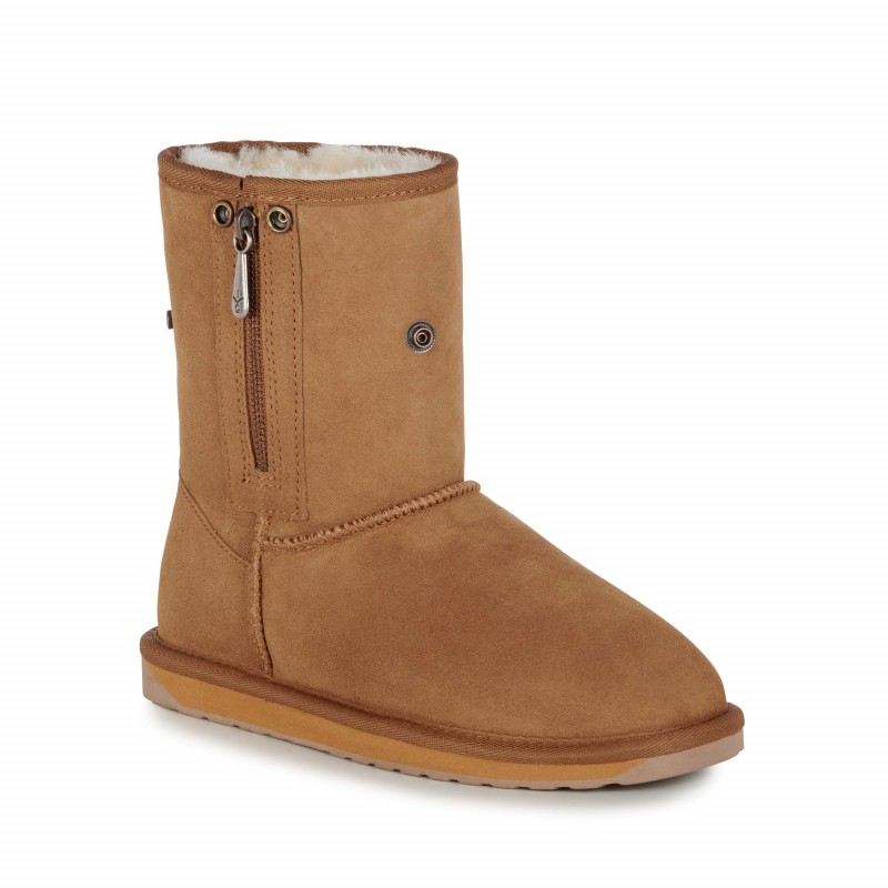Stinger Lo Zip E012 CHESTNUT