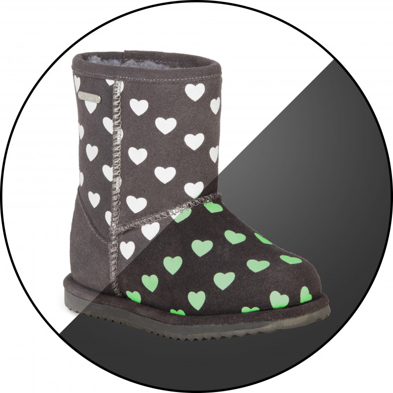 Brumby Heart E009 CHARCOAL