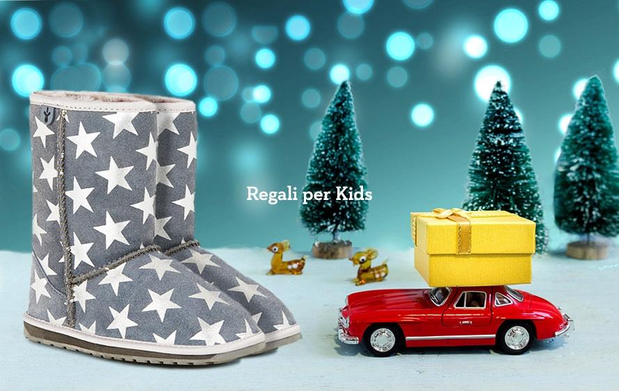 Idee Regalo Natale Stivaletti Emu e Pantofole per bimbi