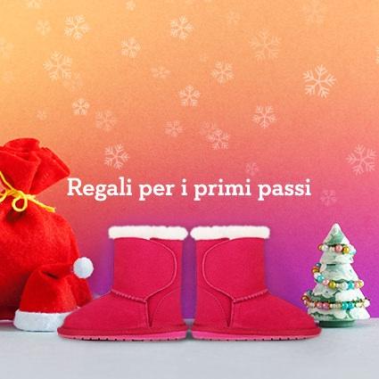 Idee Regalo Natale Stivaletti Emu e Pantofole per neonati